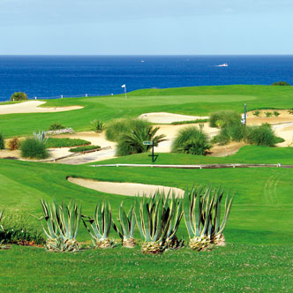 a golf course in the algarve