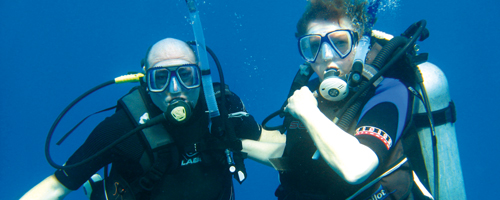 Humby's diving in cyprus