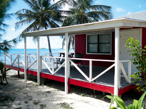 The oceanfront home on Grand Bahama, with saltwater pool built close to the shore and available for £246K