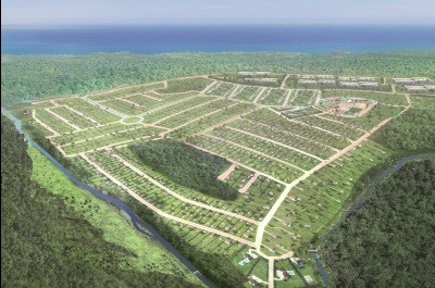 The masterplan for the Tambaba Country Club Resort in Joao Pessoa, Brazil