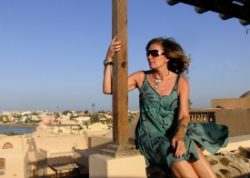 Gerogina Cole living in El Gouna, Egypt