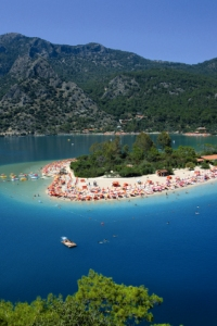 The lagoon at Oludeniz near Fethiye, Turkey