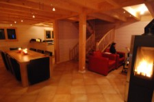 Newly built ski chalet located a 15 minute walk from Morzine