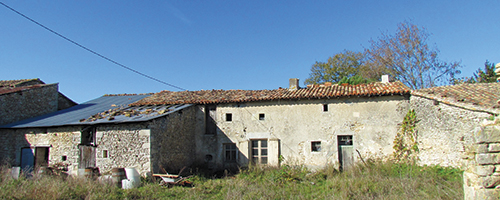 property under renovation in france
