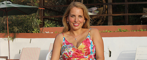 jasmine harman in the costa blanca