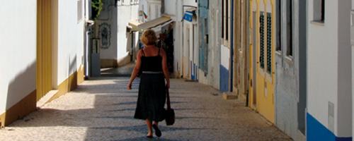 woman in east algarve