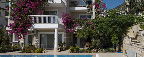 lilygreen duplex in kalkan, turkey