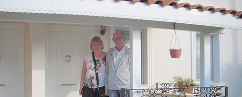lynda and kevan in turkey