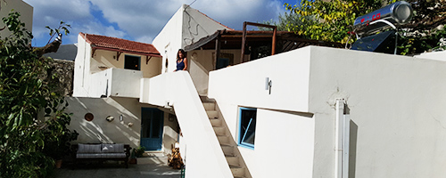 rusbridge house in crete
