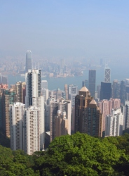 The view form your own property on Victoria Peak in Hong Kong could set you back a cool  US$36 million