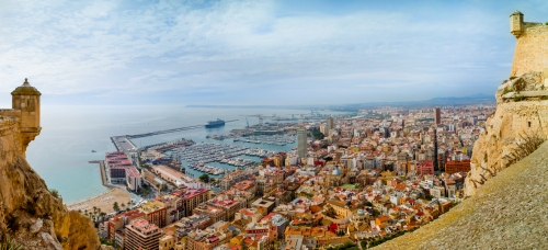 Alicante on spain's Costa Blanca is likely to be popular destination for holiday rentals in 2014