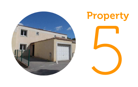 Property 5: Three-bed villa in Marseillan