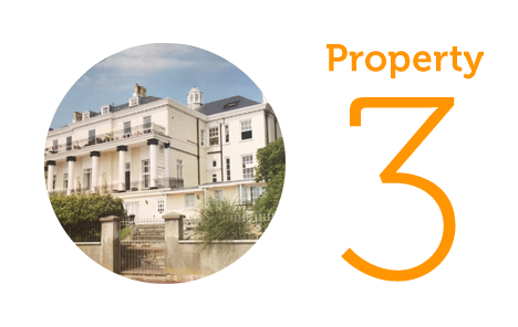 Property 3: Two-bed apartment in Greenhill, Weymouth