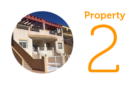Property 2: Two bed ground floor apartment