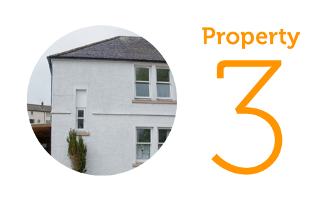 Property 3: Three-bed semi-detached house in Deanston