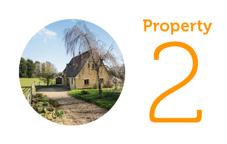 Property 2: Five-bed cottage in Spelsbury