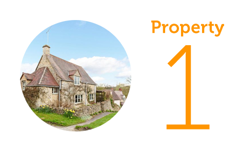 Property 1: Three-bed cottage in Coberley