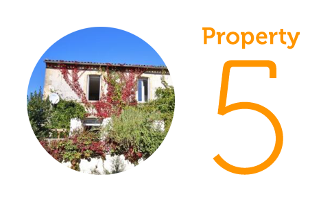 Property 5: Three-bed village house in Sigoules