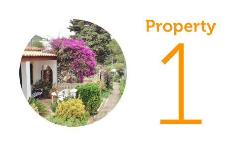 Property 1: One-bed bungalow in Costa de la Calma