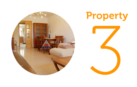 Property 3: Three-bed apartment in Sa Pobla
