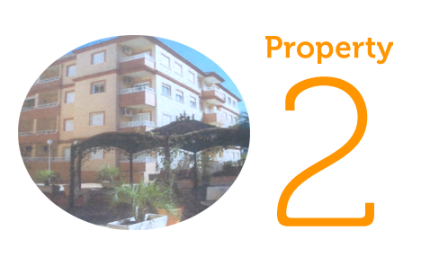 Property 2: Two bed penthouse apartment in Algorfa