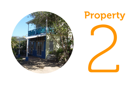 Property 2: Two self contained studios in Willoughby Bay