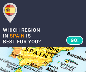 Interactive Map of Spanish Regions