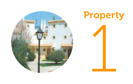 Property 1: Two-bed townhouse in Alvor