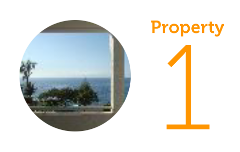 Property 1: Front line two-bed apartment with sea views