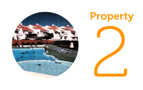 Property 2: Two-bed apartment in the Sand Club complex