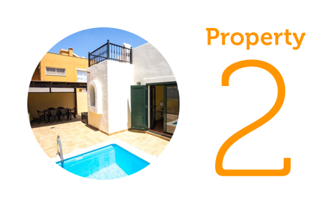 Property 2: Four-bed townhouse in Corralejo