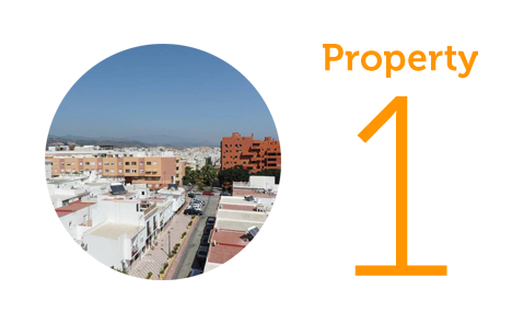 Property 1: Two-bed apartment in central Estepona