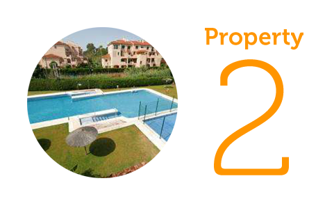 Property 2: Two-bed apartment in Pueblo Mexicano