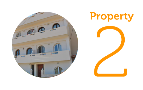 Property 2: Two-bed apartment close to the beach