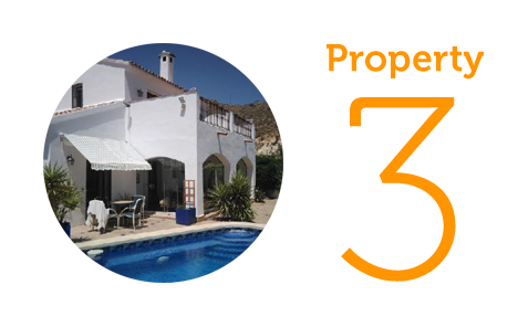 Property 3: Three-bed farmhouse in Sorbas