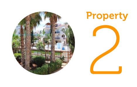 Property 2: Apartment with sea views in Kapparis