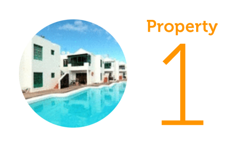 Property 1: One-bed apartment close to beach