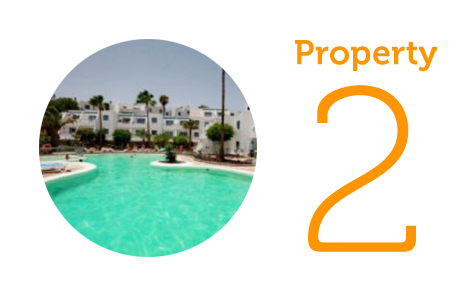 Property 2: One-bed sea view apartment