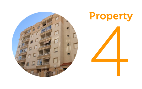 Property 4: Two-bed flat in residential Torrevieja