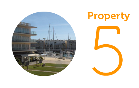 Property 5: Two bed apartment in Marina de Lagos