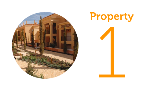 Property 1: Two bed apartment in Praia de Luz