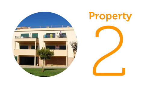 Property 2: Luxury two bed apartment in Burgau