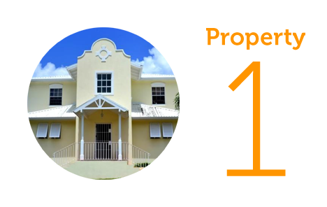 Property 1: Three bed house in Castries