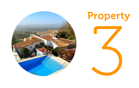 Property 3: One bed apartment in Barrio Santa Ana