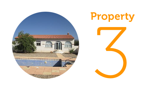 Property 3: Three bed villa in Tabernas