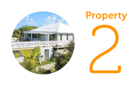 Property 2: Two bed home in Long Bay Hills