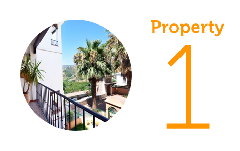 Property 1: Two bed apartment in Frigiliana