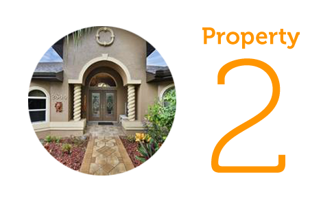 Property 2: Four bed house in Cape Coral