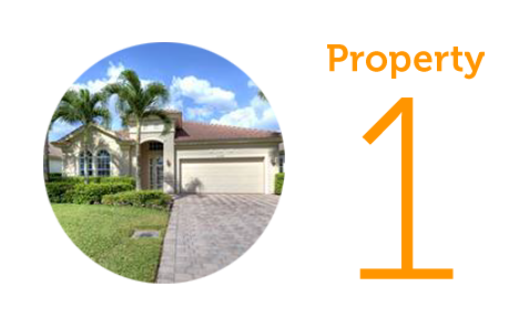 Property 1: Three bed house in Bonita Springs
