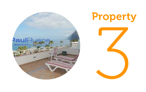 Property 3: Thee bed apartment in Los Gigantes